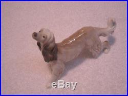 Lladro Afghan Hound Figurine