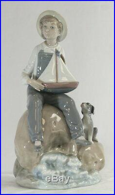 Lladro Boy and his Dog