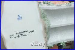 Lladro Bridge of Dreams #01001879, in original box, missing umbrella and a dog