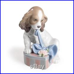 Lladro Can't Wait Dog Figurine 01008312