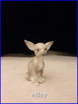 Lladro, Chihuawa Dog #9191, Brand New, Mib, Free Usps Shipping