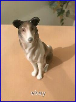 Lladró Collie # 1316 Aka Dog Mint Condition Fast Shipping