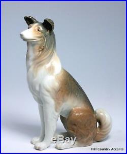 Lladro Collie #1316 Shepherd Dog Retired 36 Years $550 Value Mint