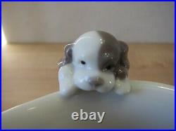 Lladro Creamer 6040 Dog Puppy Rare