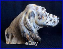Lladro DOG'S HEAD Porcelain figurine MINT