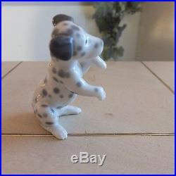 Lladro Dalmatian Dog # 1262 L@@k! Rare! Mint Condition Fast Shipping