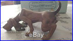 Lladro Dog # 5110 Bloodhound Mint Condition withBOX