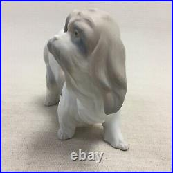 Lladro Dog Figurine Retired Lhaso Apso Tibetan Terrier