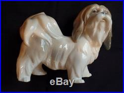 Lladro Dog, Glazed # 01004642