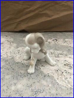Lladro Dog & Snail PP102G Rare Piece