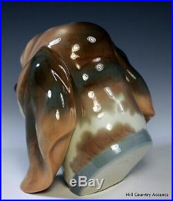 Lladro Dog's Head Beagle #1149 Vintage, In Perfect Condition -$630 V- Mint