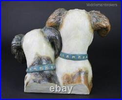 Lladro Dogs Bust 1977-79 Terrier Dograreretired Charity Item