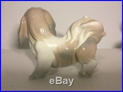Lladro Figurine 4642 Dog Mint, Retired 1981, Terrier