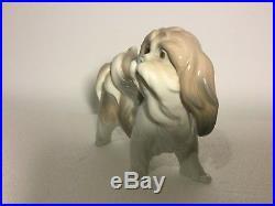 Lladro Figurine 4642 Dog Mint, Retired 1981, Terrier, No box