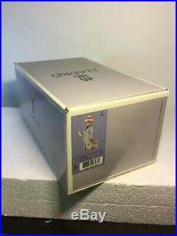 Lladro Figurine 6166 Dear Santa Mint, Retired, with original box, Boy, Dog