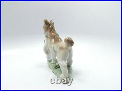 Lladro Figurine #6556 Safe and Sound Baby Boy and Dog, with box, 5