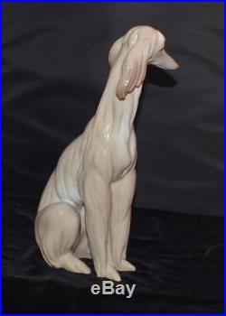 Lladro Figurine AFGHAN Dog #1069- Ret 1985 J Huerta-11.5'H Mint