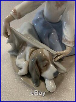 Lladro Figurine DOG'S BEST FRIEND #5688