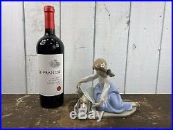 Lladro Figurine Dog's Best Friend #5688 Excellent Condition Made In Spain