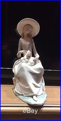 Lladro Figurine Girl With Dog (L4806G) 72887