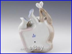 Lladro Figurine NEW PLAYMATES BOY WITH DOG & PUPPIES #5456 Retired Mint BOX