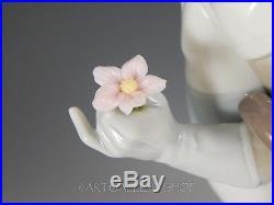 Lladro Figurine ON THE MOVE CLOWN & DOG & FLOWER BLACK LEGACY #5838 Retired Mint