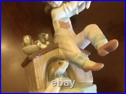 Lladro Figurine PICK OF THE LITTER GIRL DOG PUPPIES #7621 Retired Mint