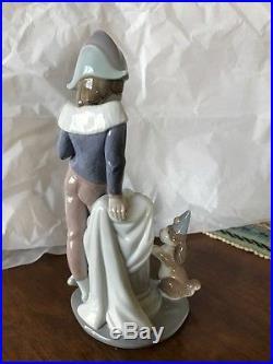 Lladro Figurine Tuesday's Child #6013 Boy with Dog