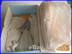 Lladro - Girl With Goose And Dog #4866 - In Original Box - Lke New
