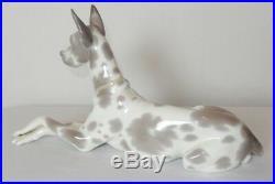 Lladro Great Dane Dog Figurine