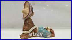 Lladro Gres Figurine Paco #2166 Daisa 1988 RETIRED RARE & HTF