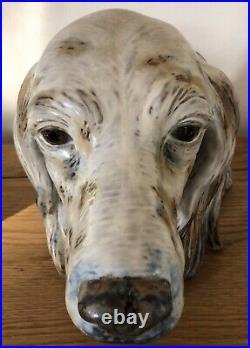 Lladro Gres Setters Head. 12045. Rare piece