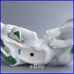 Lladro Hound Dog Bloodhound Ornament Figurine Old Dog Retired 1978