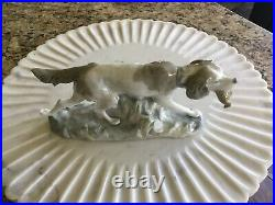 Lladro Hunting Dog with Quail #308.13A RARE Early Porcelain Figure PERFECT cond