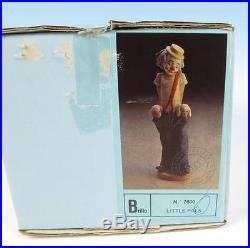 Lladro LITTLE PALS 7600 Collector's Society Figurine MINT IN BOX Clown Puppy Dog