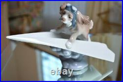 Lladro Lets Fly Away Dog Figurine