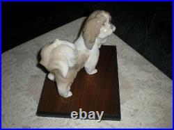 Lladro Lhasa Apso Dog #4642 Collectible Condition