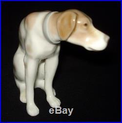 Lladro Moping Dog Porcelain Figurine # 4902 Retired 1979 Spain Mint