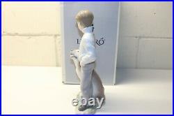 Lladro'My Loyal Friend' Boy with Dog Figure, 6902, In Original Box, 10