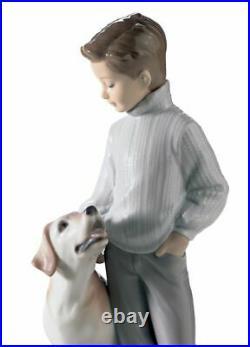 Lladro My Loyal Friend Dog Figurine 01006902