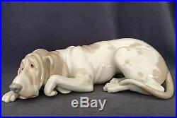 Lladro Old Dog (1067 Gloss Finish) Mint in Box RARE