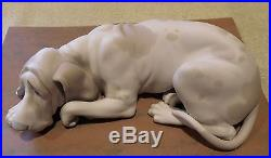 Lladro Old Dog #1067 RARE MATTE FINISH VERSION only made 1969 1970
