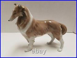 Lladro PASTOR SHETLAND Sheepdog Collie Dog #8326 Mint in Box GORGEOUS
