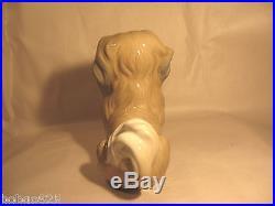Lladro Pekingese Porcelain Dog Figurine Vintage G-27 F Hand Made In Spain 5.75