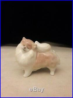 Lladro, Pomeranian Dog #8338, Brand New, Mib, Free Usps Shipping