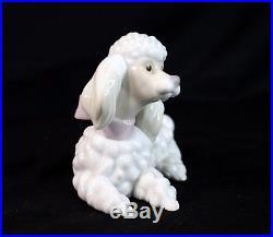 Lladro Porcelain Dog Figurine POODLE #6337