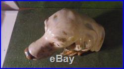 Lladro Porcelain Figure Large Irish Setter Dog Bust Head #2045
