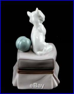 Lladro Porcelain Figurine 6985 My Favorite Companion Westie Puppy Dog New In Box