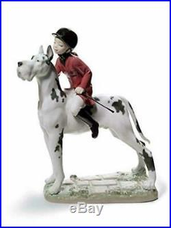 Lladro Porcelain Giddy up doggy 01008523