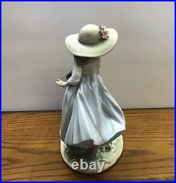 Lladro Privilege Figurine Puppy Parade 6784 Girl Dog Puppies withOrig. Box `MINT`